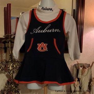 NCAA Auburn Tigers Cheerleader Dress Outfit